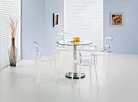 Обеденный стекляный стол Cyryl 80 (Halmar)