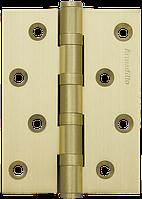 Петли дверные универсальные Armadillo  500-C4 100x75x3 SG Матовое золото
