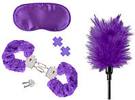 Секс набор интим игрушек Pipedream Набор Fetish Fantasy Purple Passion Kit | Секс шоп - интим магазин Импери.