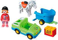 Автомобиль с прицепом для лошадок (6958), Playmobil