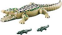 Аллигатор с детенышами (6644), Playmobil