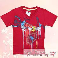 Турецкие футболки для мальчика от 5 до 8 лет (5131-3)
