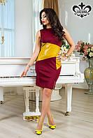 Стильное женское платье Эмма Luzana 42-52 размеры