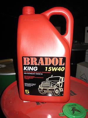 Моторное масло BRADOL KING SAE 15W-40, ACEA E-7