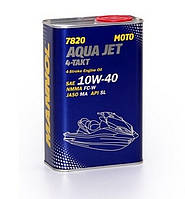 Моторное масло Mannol 7820 Aqua Jet 4-Takt API SL (1L) Metal