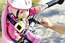 Кресло сидение для велосипеда велокресло для куклы Беби Борн Baby Born Zapf Creation 823712, фото 3