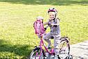Кресло сидение для велосипеда велокресло для куклы Беби Борн Baby Born Zapf Creation 823712, фото 4