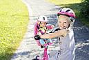 Кресло сидение для велосипеда велокресло для куклы Беби Борн Baby Born Zapf Creation 823712, фото 5