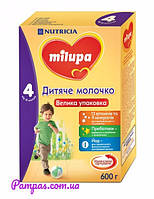 Сухое детское молочко Milupa 4, 600 г