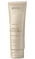 Шампунь для светлых волос Divine Blond Shampoo, 250мл, Indola