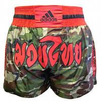 Шорты для тайского бокса ADIDAS Thai Short Camouflage (L)