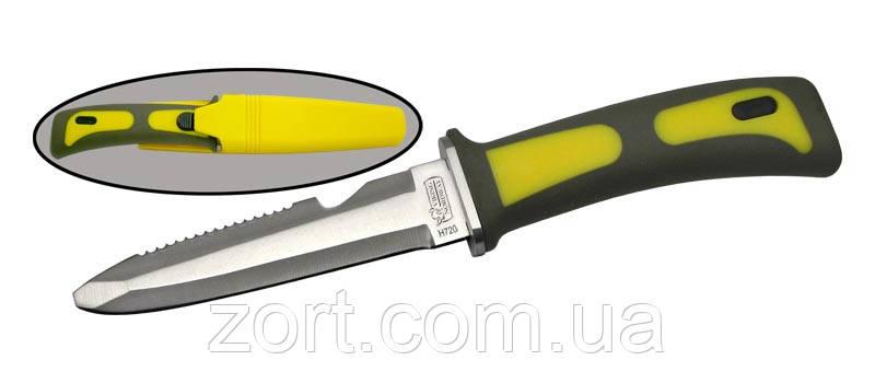 Спортивний підводний ніж з фіксованим клинком H720, фото 2
