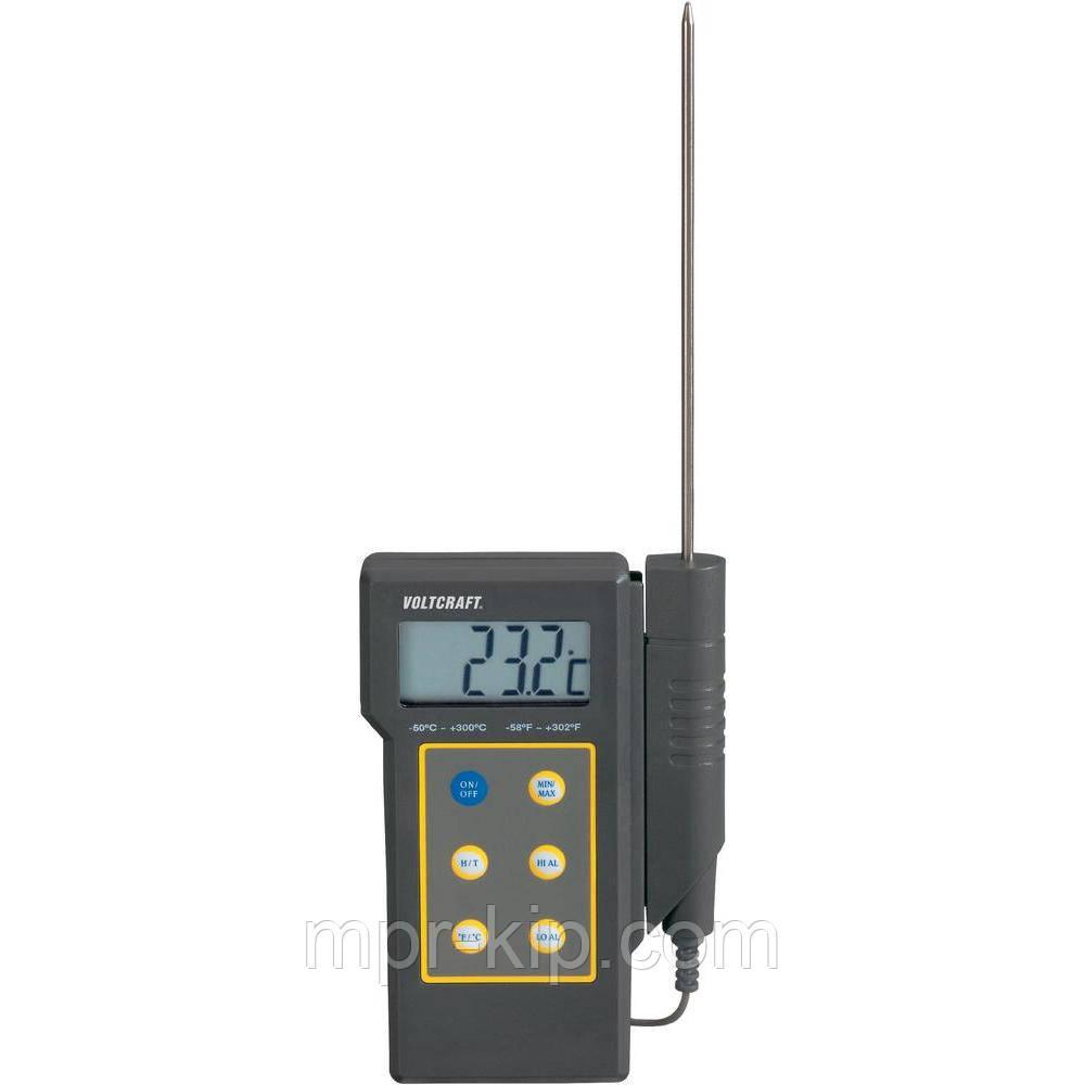 Термометр VOLTCRAFT DT-300 (від -50 до +300 °C) зі щупом. Німеччина