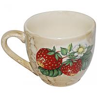 50199 Чашка Одесса Мрамор с деколью 220 мл