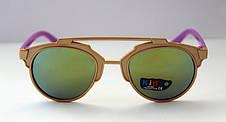 Детские разноцветные солнцезащитные очки-авиаторы, фото 3