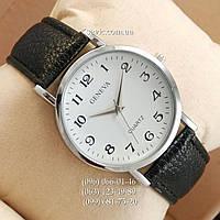 Женские наручные часы Geneva Black-Silver-White