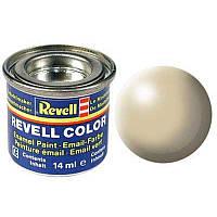 Краска № 314 бежевая шелковисто-матовая beige silk 14ml, Revell