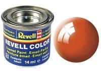 Краска № 30 оранжевая глянцевая orange gloss 14ml, Revell
