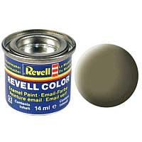 Краска № 45 светло-оливковая матовая light olive mat 14ml, Revell