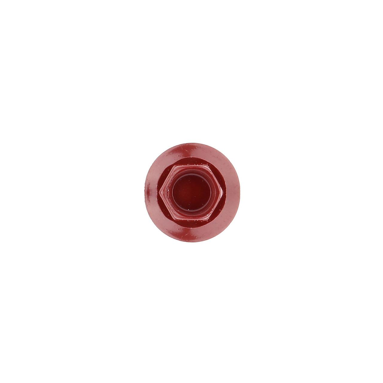 Саморез по дереву кровельный вишневый RAL3005 BudMonster 4,8х35 мм 250 шт (10086) - фото 2
