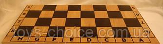 Шахматная Доска Деревянная 38 См Украина
