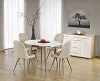 Раздвижной деревянный обеденный стол Edward (Halmar)