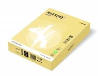 Бумага цветная  А3 80 г/м 500л  Maestro Color Pastell YE23 Yellow желтый