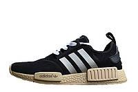 Мужские кроссовки  Adidas  NMD Runner Suede Black, фото 1