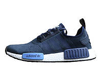 Мужские кроссовки  Adidas  NMD Runner Suede Blue, фото 1