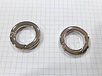 Карабин D0372 никель 20 мм