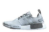 Мужские кроссовки  Adidas  NMD Runner Suede Grey, фото 1