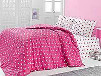 Комплект постельного белья ANATOLIA бязь голд 2007-02 розовый евро комплект