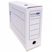 Бокс для архивации документов 240х100х355 белый Еconomix 32704-14 20шт/уп