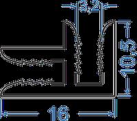 Профиль для соединения композитных листов 3мм