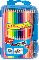Цветные карандаши Карандаши цветные COLOR PEPS Smart Box  ассорти Maped MP.832035 (MP.832035 x 124214)