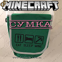 "Сумка на плече Minecraft - ""Minecraft Bag"", фото 1"