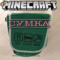 "Сумка на плечо Minecraft - ""Minecraft Bag"", фото 1"