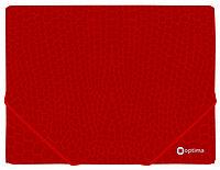 """Папка на резинке Папка пластиковая А4 на резинках  """"Varan"""" Optima O31666 ассорти (O31666 x 124816)"""