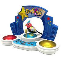 Игр. набор с интерактивной птичкой DigiBirds третьего поколения - БУМБОКС (свет, звук,  птичка)