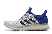 Мужские кроссовки  Adidas Ultra Boost FutureCraft 3D White Blue, фото 1