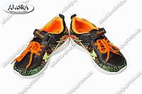 Детские кроссовки черные (Код: FC-01-1)