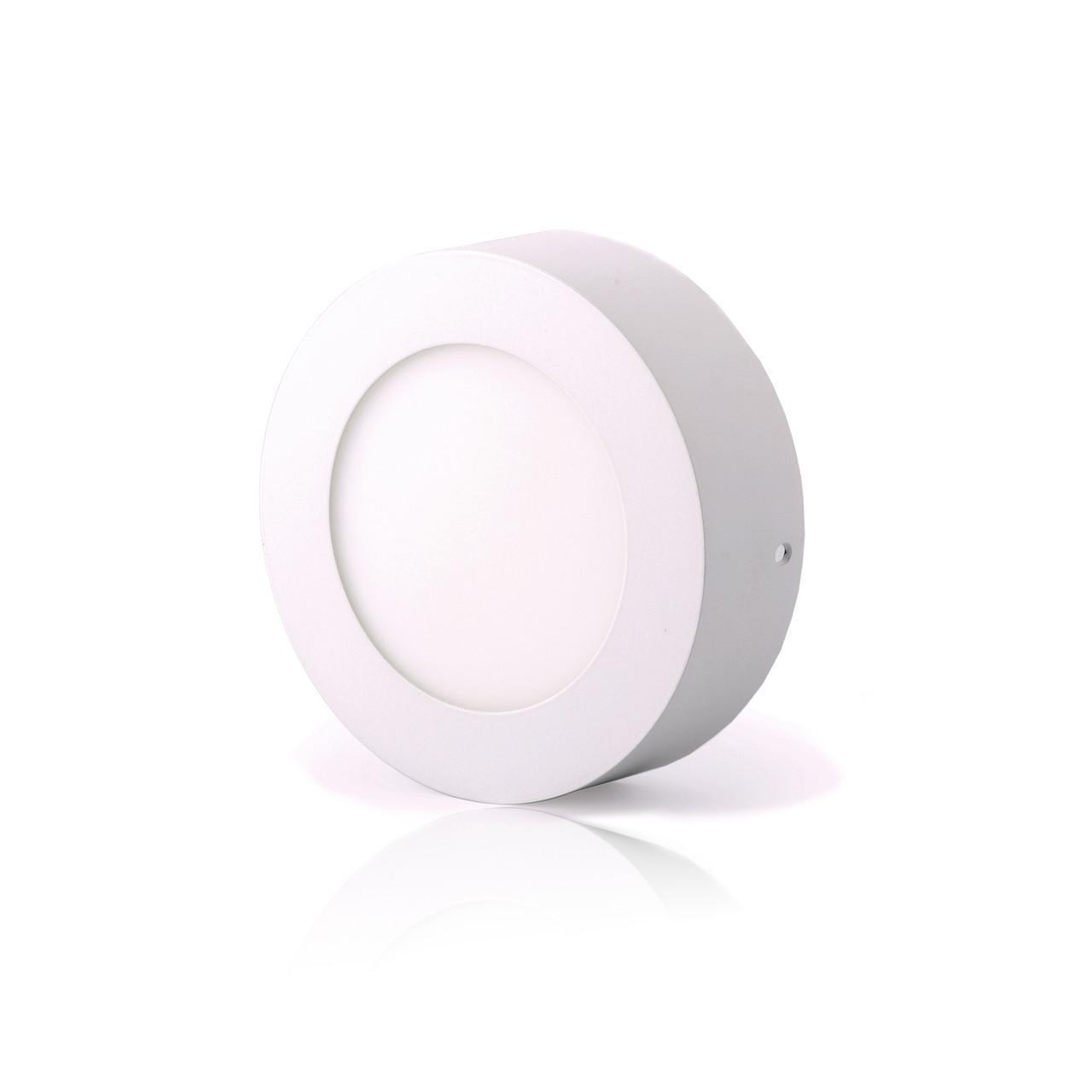 LED Downlight Евросвет 6Вт 6400К накладной круг LED-SR-120-6 000039174