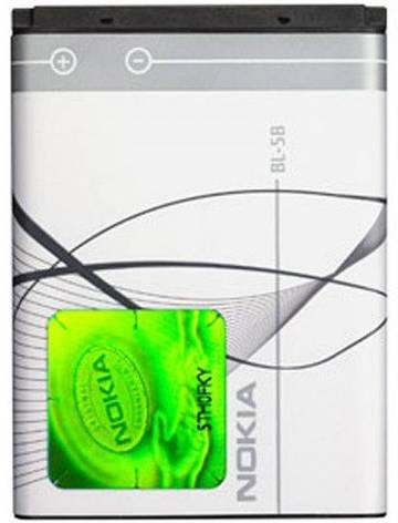 Аккумулятор Nokia BL-5B оригинальный, фото 2