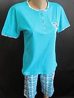 Хлопковые пижамы с бриджами для девушек.