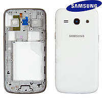 Корпус для Samsung G350 Galaxy Star Advance Duos, белый, dual SIM, оригинальный