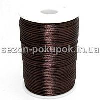 Шнур корсетный (сатиновый, шелковый) 3мм цена за 100 ярдов. Цвет - на фото