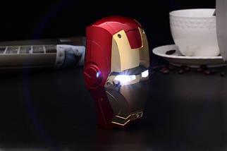 Внешний аккумулятор для телефона Iron man. Power bank 6000 mAh, фото 2