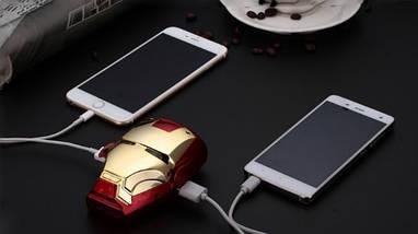 Внешний аккумулятор для телефона Iron man. Power bank 6000 mAh, фото 3