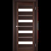 Межкомнатная дверь PORTO DELUXE орех сатин белый PD-02