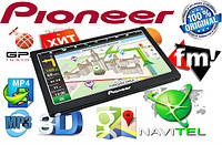 "Новинка! GPS навигатор Pioneer 557 5"" Win CE 6.0 + Карты"